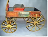 Antique Sherwood Spring Coaster, best childrens wagon, Gordon Westover, Sacramento