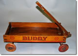 Country wagons for home decor handcrafted by Gordon Westover, Sacramento